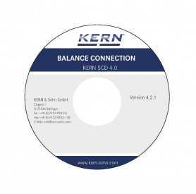 logiciel BalanceConnection KERN SCD-4.0