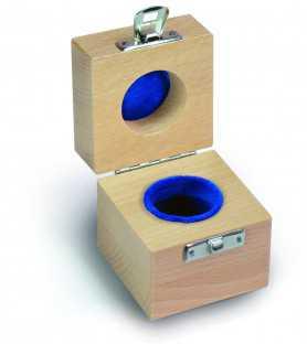 Etui protégé en bois pour poids 1 g
