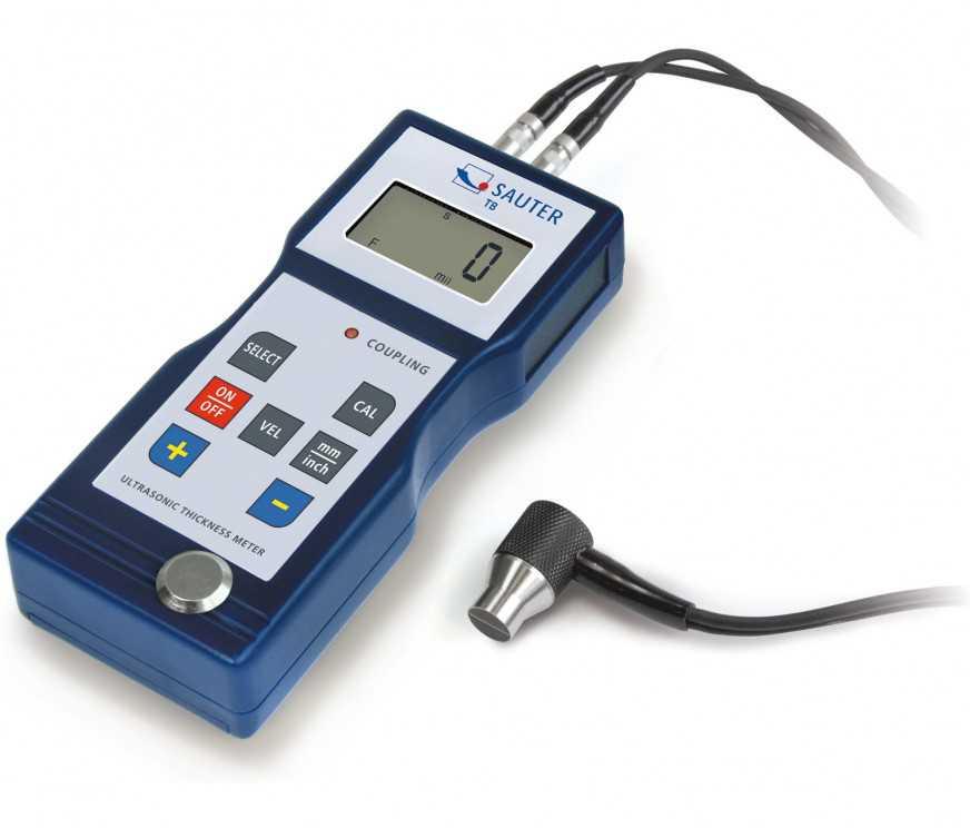 Mesureur d'épaisseur de paroi par ultrason TB 200-0.1US.