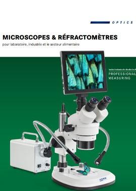 Microscopes et réfractomètres