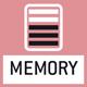 Memory: Emplacements de mémoire internes à la balance, par ex. des tares, de pesée, données d'article, PLU etc.
