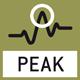 Fonction Peak-Hold: mesure de la valeur de pic au sein d'une procédure de mesure.
